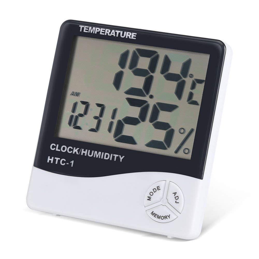 Warmhoming Weather Clocks with Wireless Transmitter, Forecast Thermometer Indoor/Outdoor <strong>Temperature</strong> and Humidity