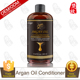 OEM Factory Provide Argan Oil Silk Hair Conditioner Raw Material And Bottle Packed Are Available