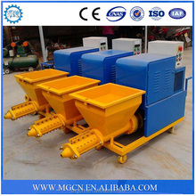 Import china products mixed sand cement single phase cement mortar spray machine