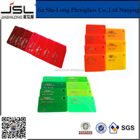 cast acrylic sheets for advertising and decorative material