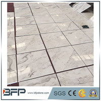 Popular hotel lobby marble design with New Volakas white marble flooring