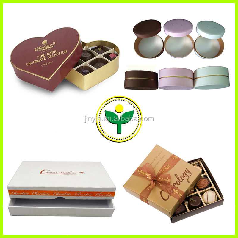 Dubai luxury heart shape chocolate packaging boxes gift box inserts