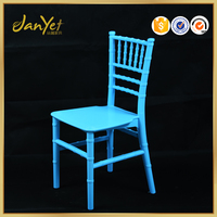 classic blue resin tiffany chair children for event