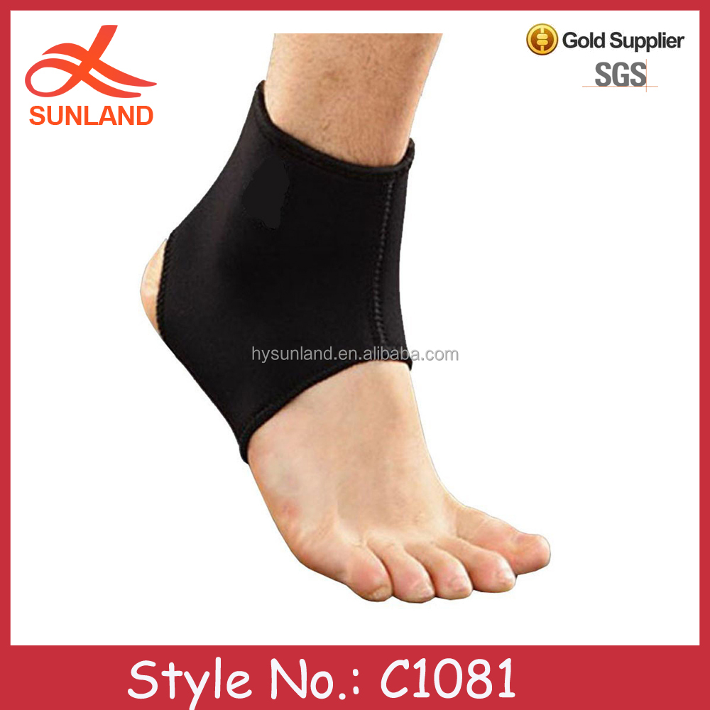 C1081 2016 Neoprene Waterproof Boot Ankle Support Padded supporter ankle
