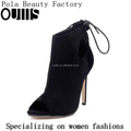 2017 Sexy high heel open toe ankle boots new fashion high heel ankle sandals PF4388
