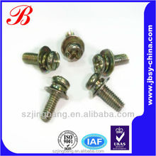 Galvanized steel combination nut bolt screw making machines
