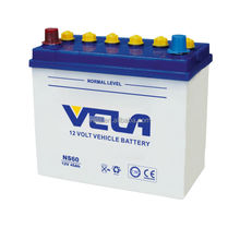 12v Dry Charged Battery NS60 korea car battery wholesale