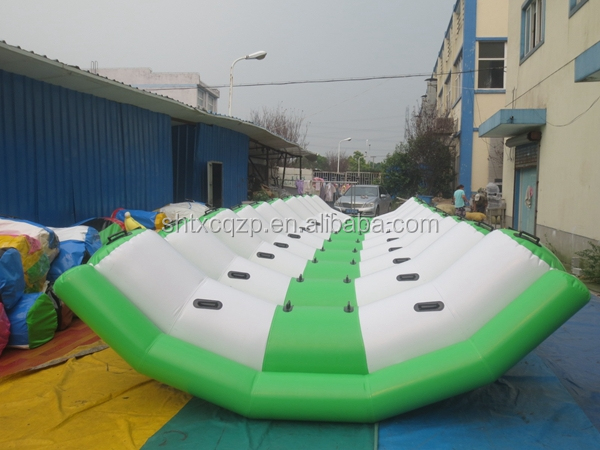 2015 fun city inflatable seesaw water toy