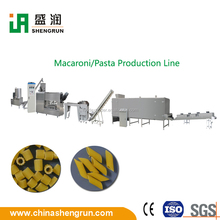 Self- clean macaroni pasta production line