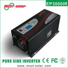 <Must Solar> EP3000 Series 1-6kw Low frequency Pure sine wave electric motor/generator hybrid Power Inverter