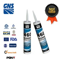 GNS N60 Weatherproof Silicone sealant insulating glass polysulfide mastic sealant neutral silicone sealant