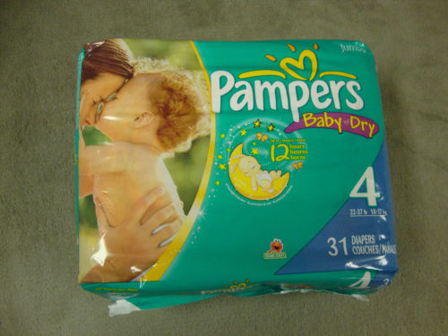 Pam_pers Swa-ddlers Sen-sitive Diapers Super Pack Size Newborn - 96 Count
