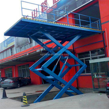 Good Sale motorcycle wheelchair car electric manual vertical scissor lift platform lowest price for sale