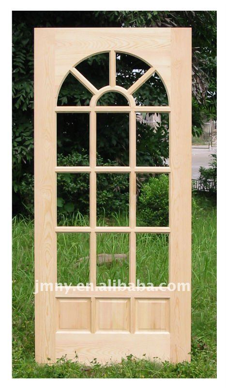solid wood Hemlock / pine door