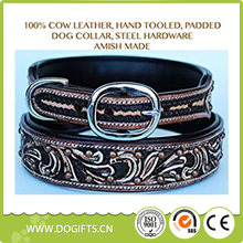 Large Bling Rhinestone Dog Puppy Collar Crystal Western Cow Leather Dog Leashes and Collars Dogift0764