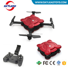 Skyleader New product Mini WIFI FPV Folding Pocket Selfie Drone With HD Camera
