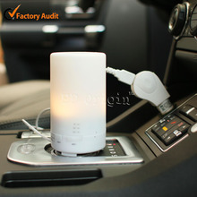 Car scent air freshener / aroma car humidifier ultrasonic / diffuser for cars