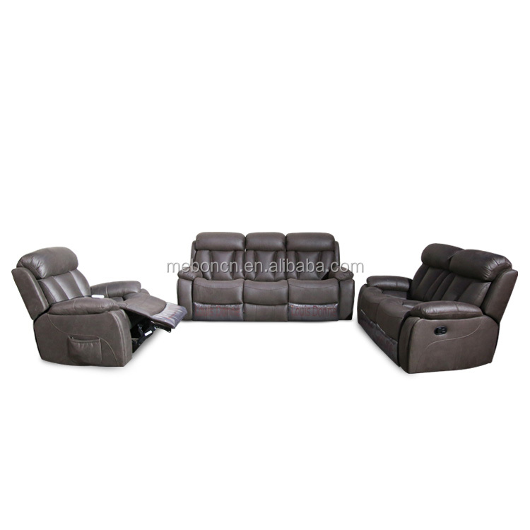 electric leather sofa recliner 522