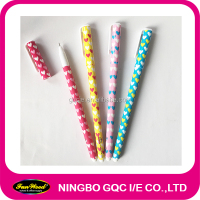 Plastic gel pen, heat transfer printing gel pen,colorful gel pen