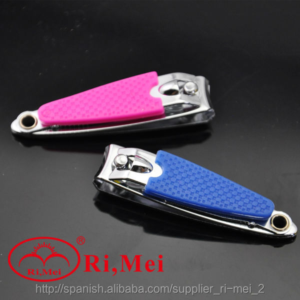 Safety and comfortable silicone nail cutters nail clippers for baby