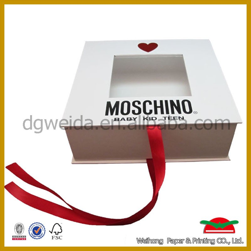 2017 fashion gift paper boxes