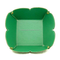 Fashion Customized Pu Leather Coin Tray Change Case