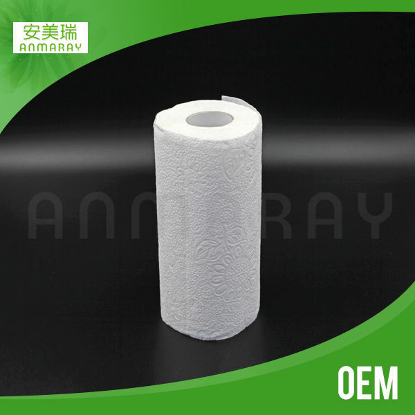 wholesale 100% virgin kitchen paper roll towel