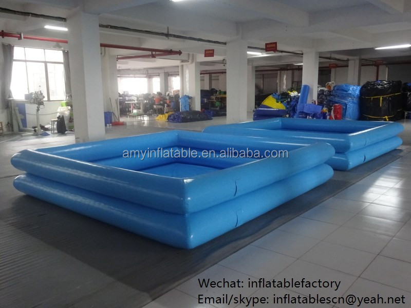 PK Funning Water Park Toys Double Kids Inflatable Square Swimming Pool For Water Games Play