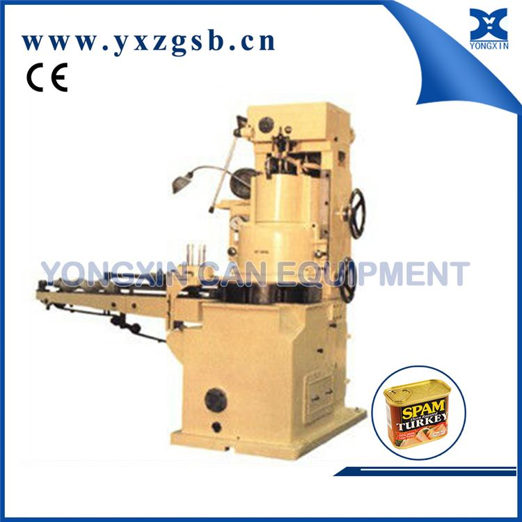 Automatic Food Can Sealer Round Canning Vacuum Seamer Machine