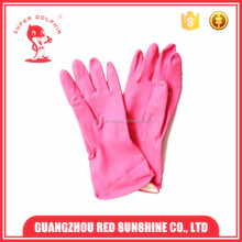 long sleeve household waterproof rubber gloves for washing and cleaning