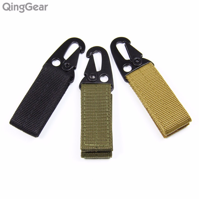 Tactical Molle Nylon Buckle With Closure and Strong Metal Hook For Blet Backpack Vest