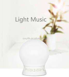 Sunrise Wake Up Light APP Play music Alarm Clock With FM Radio and Nature sound