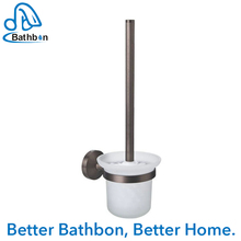 New design bathroom bamboo toilet brush holder With Good Service