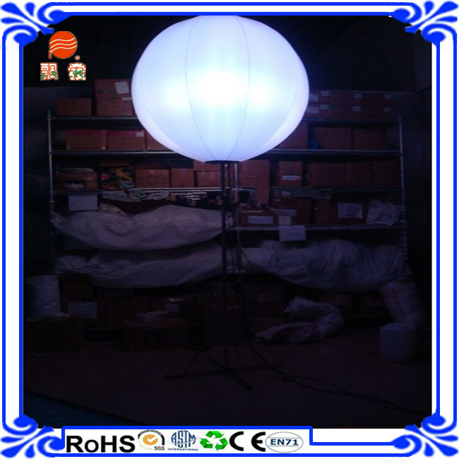 wedding lighted balloons/ led light balloon inflatable stand for decorationD meet CE/EN71-2-3