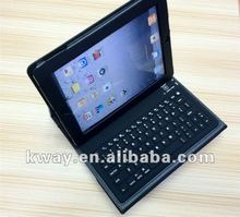 Bluetooth Wireless Keyboard PU Leather Case Cover Stand for the new iPad 3 iPad 2 KKB008
