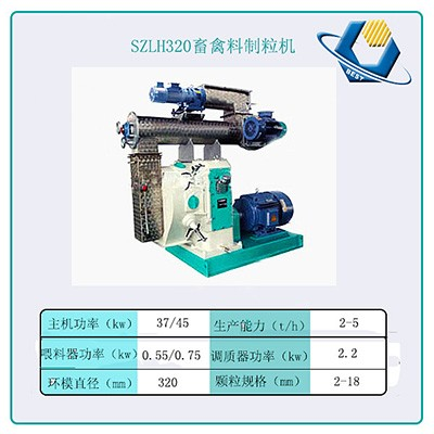 Horizontal Ring Die Animal Feed Pellet Making Machine Price