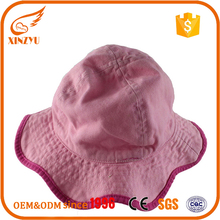 Custom made factory outdoor rainbow bucket hat chambray colorful bucket hat