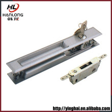 Contemporary anodizing window deadbolt latch
