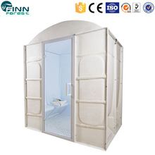 Best quality 6 people acrylic portable steam room outdoor