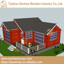 Senhao environmental low cost beautiful design wooden modular