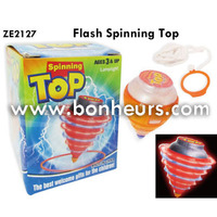 2016 Novelty Toy Light Up Flash Spinning Top