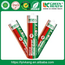 High-temp Colored Natural Cure Silicone Sealant