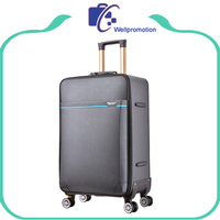 Lightweight mens luggage bags fabric trolley