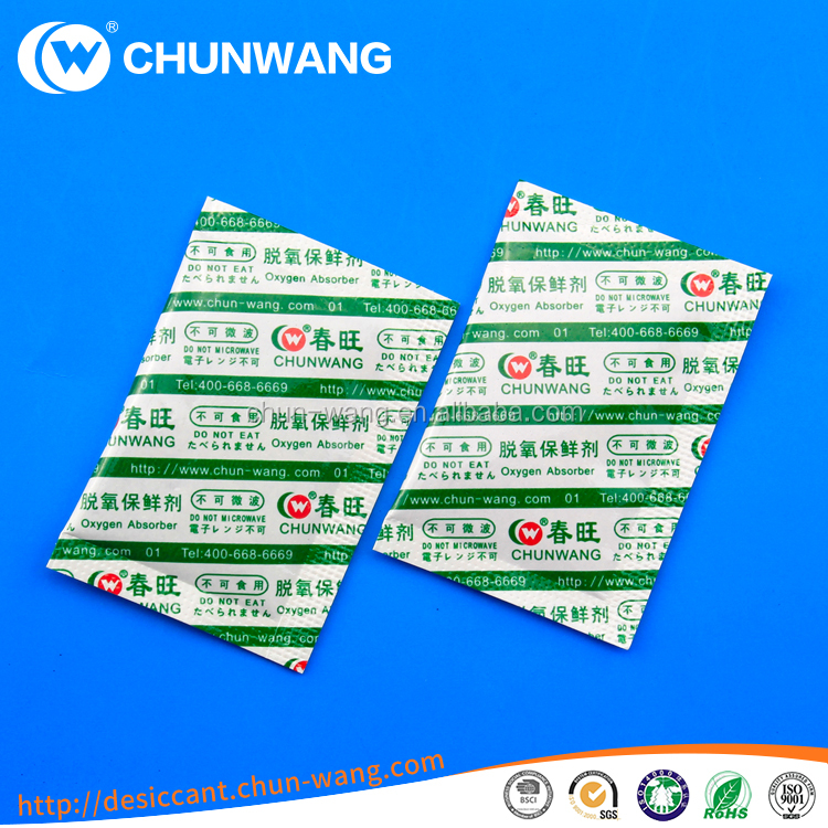 Wholesale Price Oxygen Absorber for Food Usage 50CC