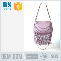 new design most fashion woman handbags with tassel