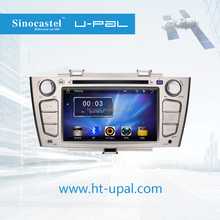 "7"" Car In-dash DVD GPS with Touch Screen/TV/Radio/Dual-zone/iPod/USB/SD Slot/1 Year Warranty for JAC J6 hatChback/"