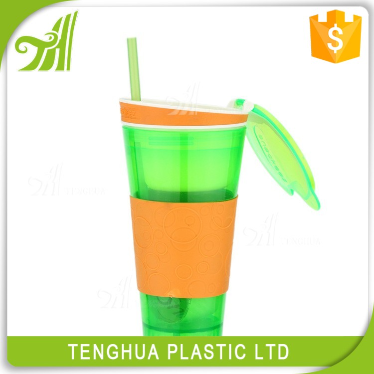 Wholesale Novelties China Mini Tableware Snack Cup Plastic Drink Water Bottle