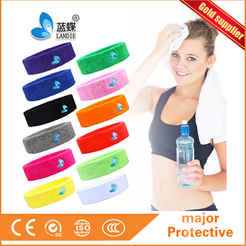 Towel Sport Elastic Headband/Head Band