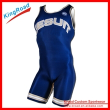 2016 new arrival China Custom Sublimated Sleeveless Wrestling overall/quick dry overall With Cheap Price