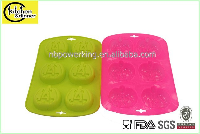 cake decorating silicone molds for halloween